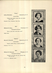 Page 15, 1925 Edition, SUNY at Fredonia - Fredonian Yearbook (Fredonia, NY) online yearbook collection