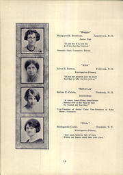 Page 16, 1925 Edition, SUNY at Fredonia - Fredonian Yearbook (Fredonia, NY) online yearbook collection