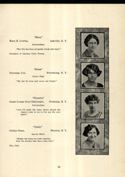 Page 17, 1925 Edition, SUNY at Fredonia - Fredonian Yearbook (Fredonia, NY) online yearbook collection