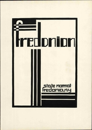 Page 9, 1931 Edition, SUNY at Fredonia - Fredonian Yearbook (Fredonia, NY) online yearbook collection
