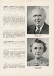 Page 15, 1944 Edition, New York University School of Commerce - Commerce Violet Yearbook (New York, NY) online yearbook collection