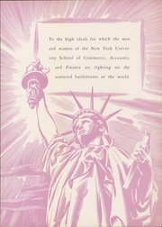 Page 9, 1944 Edition, New York University School of Commerce - Commerce Violet Yearbook (New York, NY) online yearbook collection