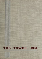 1934 Edition, Manhattanville College - Tower Yearbook (Purchase, NY)
