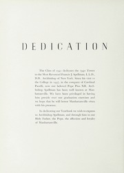 Page 8, 1940 Edition, Manhattanville College - Tower Yearbook (Purchase, NY) online yearbook collection