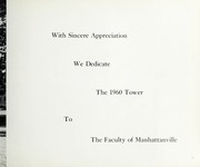 Page 15, 1960 Edition, Manhattanville College - Tower Yearbook (Purchase, NY) online yearbook collection