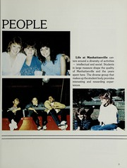 Page 9, 1985 Edition, Manhattanville College - Tower Yearbook (Purchase, NY) online yearbook collection