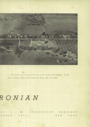 Page 7, 1939 Edition, Roberts Wesleyan College - Chesbronian Yearbook (Rochester, NY) online yearbook collection