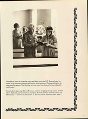 Page 7, 1972 Edition, Roberts Wesleyan College - Chesbronian Yearbook (Rochester, NY) online yearbook collection