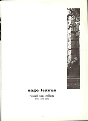 Page 7, 1965 Edition, Russell Sage College - Sage Leaves Yearbook (Troy, NY) online yearbook collection