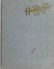 Page 1, 1894 Edition, Hamilton College - Hamiltonian Yearbook (Clinton, NY) online yearbook collection
