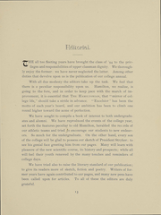 Page 15, 1894 Edition, Hamilton College - Hamiltonian Yearbook (Clinton, NY) online yearbook collection