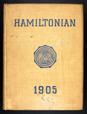 1905 Edition, Hamilton College - Hamiltonian Yearbook (Clinton, NY)