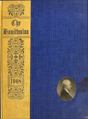 1908 Edition, Hamilton College - Hamiltonian Yearbook (Clinton, NY)