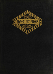 1923 Edition, Hamilton College - Hamiltonian Yearbook (Clinton, NY)