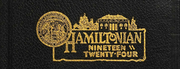 1924 Edition, Hamilton College - Hamiltonian Yearbook (Clinton, NY)