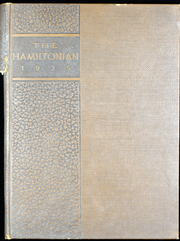 1935 Edition, Hamilton College - Hamiltonian Yearbook (Clinton, NY)