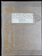 1937 Edition, Hamilton College - Hamiltonian Yearbook (Clinton, NY)