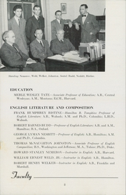 Page 14, 1947 Edition, Hamilton College - Hamiltonian Yearbook (Clinton, NY) online yearbook collection