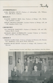 Page 17, 1947 Edition, Hamilton College - Hamiltonian Yearbook (Clinton, NY) online yearbook collection