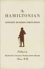 Page 7, 1947 Edition, Hamilton College - Hamiltonian Yearbook (Clinton, NY) online yearbook collection