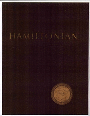 1961 Edition, Hamilton College - Hamiltonian Yearbook (Clinton, NY)