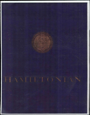 1962 Edition, Hamilton College - Hamiltonian Yearbook (Clinton, NY)