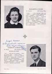 Page 17, 1942 Edition, Elmira Catholic High School - Victorian Yearbook (Elmira, NY) online yearbook collection