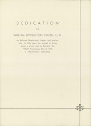 Page 10, 1936 Edition, Barnard School for Boys - Bric Yearbook (Fieldston, NY) online yearbook collection