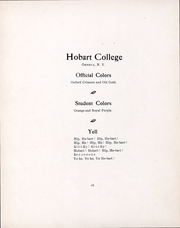 Page 17, 1902 Edition, Hobart College - Echo of the Seneca Yearbook (Geneva, NY) online yearbook collection