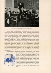 Page 17, 1942 Edition, Queens College - Silhouette Yearbook (Queens, NY) online yearbook collection