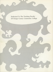 Page 7, 1968 Edition, Orange County Community College - Colt Yearbook (Middletown, NY) online yearbook collection
