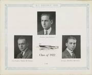 Page 14, 1922 Edition, Berkeley Irving School - Record Yearbook (New York, NY) online yearbook collection