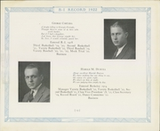 Page 17, 1922 Edition, Berkeley Irving School - Record Yearbook (New York, NY) online yearbook collection