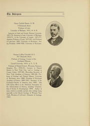 Page 15, 1907 Edition, University of Rochester - Interpres Yearbook (Rochester, NY) online yearbook collection