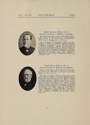 Page 16, 1908 Edition, University of Rochester - Interpres Yearbook (Rochester, NY) online yearbook collection