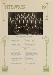 Page 111, 1914 Edition, University of Rochester - Interpres Yearbook (Rochester, NY) online yearbook collection