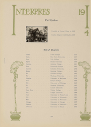 Page 115, 1914 Edition, University of Rochester - Interpres Yearbook (Rochester, NY) online yearbook collection