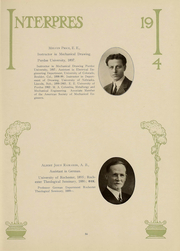 Page 36, 1914 Edition, University of Rochester - Interpres Yearbook (Rochester, NY) online yearbook collection