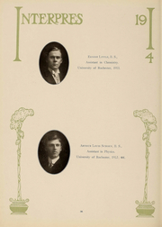 Page 37, 1914 Edition, University of Rochester - Interpres Yearbook (Rochester, NY) online yearbook collection