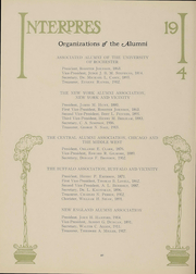 Page 41, 1914 Edition, University of Rochester - Interpres Yearbook (Rochester, NY) online yearbook collection