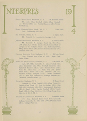 Page 48, 1914 Edition, University of Rochester - Interpres Yearbook (Rochester, NY) online yearbook collection