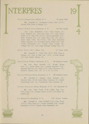Page 50, 1914 Edition, University of Rochester - Interpres Yearbook (Rochester, NY) online yearbook collection