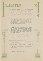 Page 52, 1914 Edition, University of Rochester - Interpres Yearbook (Rochester, NY) online yearbook collection