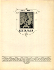 Page 7, 1929 Edition, University of Rochester - Interpres Yearbook (Rochester, NY) online yearbook collection