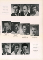 Page 43, 1950 Edition, University of Rochester - Interpres Yearbook (Rochester, NY) online yearbook collection