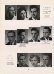 Page 48, 1950 Edition, University of Rochester - Interpres Yearbook (Rochester, NY) online yearbook collection