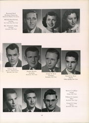 Page 51, 1950 Edition, University of Rochester - Interpres Yearbook (Rochester, NY) online yearbook collection