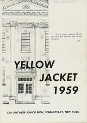 Page 3, 1959 Edition, Van Antwerp Junior High School - Yellow Jacket Yearbook (Schenectady, NY) online yearbook collection