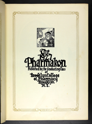 Page 9, 1927 Edition, Brooklyn College of Pharmacy - Pharmakon Yearbook (Brooklyn, NY) online yearbook collection