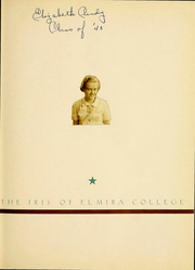Page 2, 1938 Edition, Elmira College - Iris Yearbook (Elmira, NY) online yearbook collection
